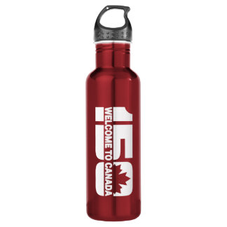 Welcome to Canada - 150 Stainless Steel Water Bottle