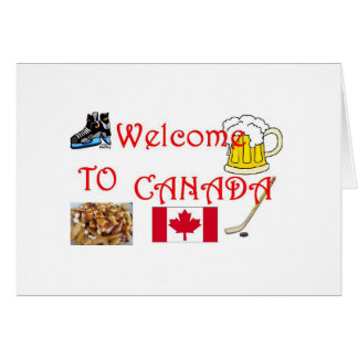 welcome to cananda card