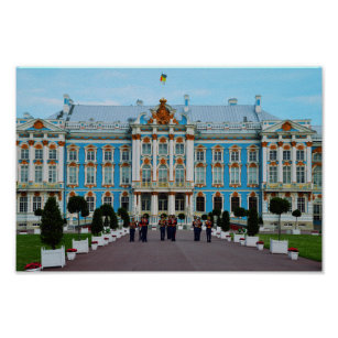 Welcome to Catherine Palace, Russia Poster