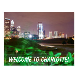 Welcome to Charlotte! Postcard