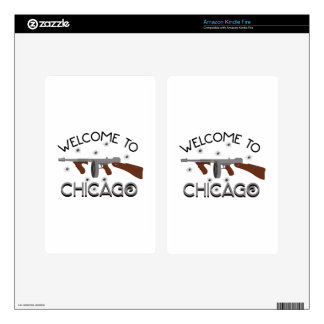 Welcome To Chicago Skins For Kindle Fire