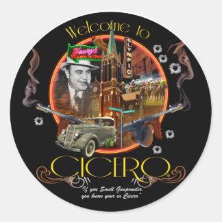 Welcome to Cicero Illinois Classic Round Sticker