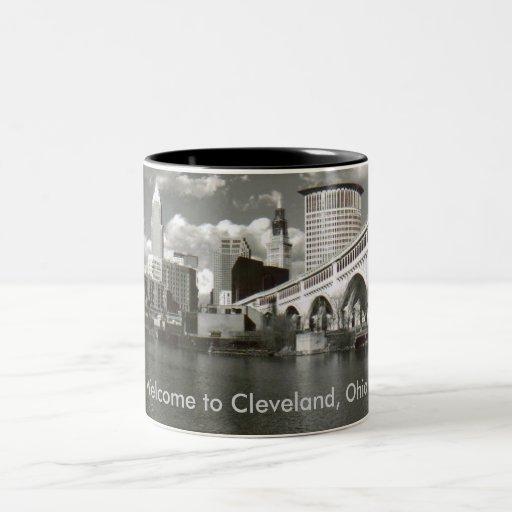 Welcome to Cleveland, Ohio! Coffee Mugs