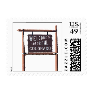 welcome to colorful colorado postage