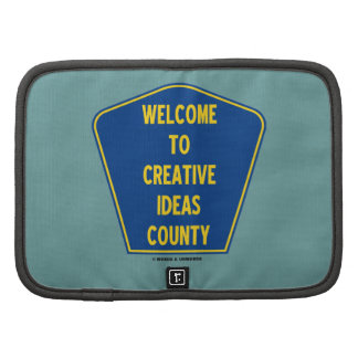 Welcome To Creative Ideas County (Sign Humor) Planners