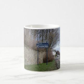 Welcome to Culross Sign Classic White Coffee Mug