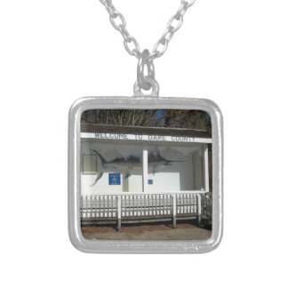 Welcome to Dare County Outer Banks Personalized Necklace