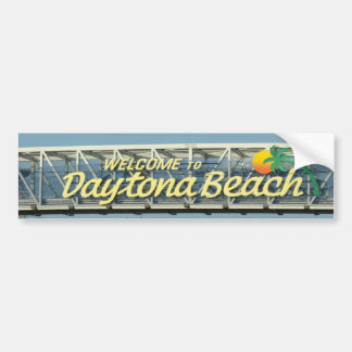 Welcome to Daytona Beach Bumper Sticker