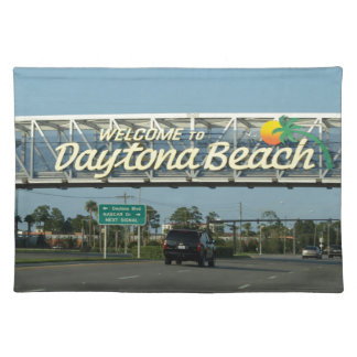 Welcome to Daytona Beach Placemat