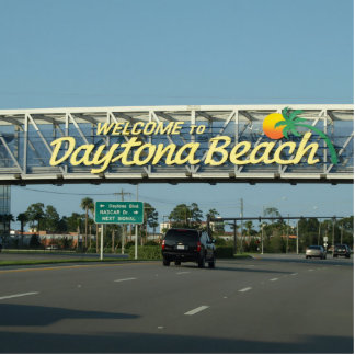 Welcome to Daytona Beach Statuette