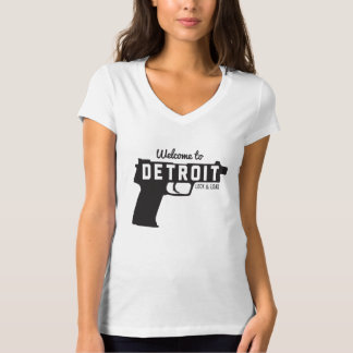Welcome to Detroit Lock & Load T-Shirt