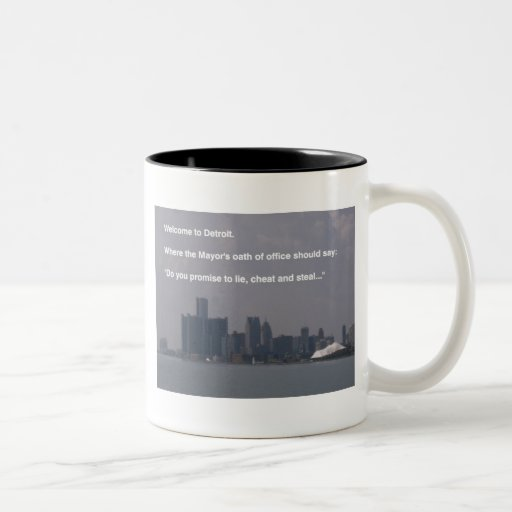 Welcome to Detroit Mug