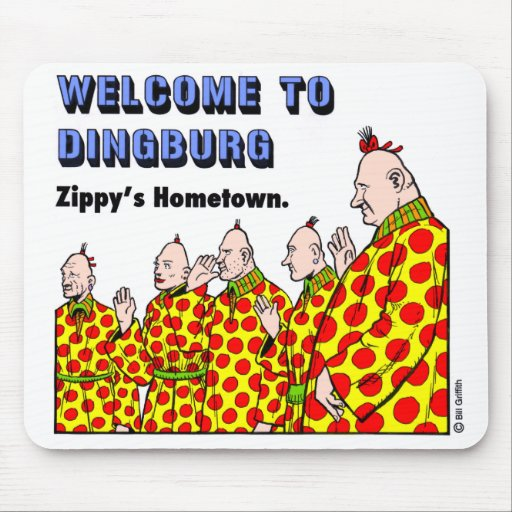 Welcome To Dingburg #1 Mouse Pad