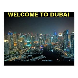 WELCOME TO DUBAI POSTCARD BY MOJISOLA A GBADAMOSI