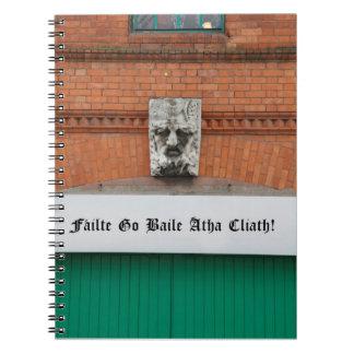 Welcome to Dublin /failte go baile atha cliath Spiral Notebook