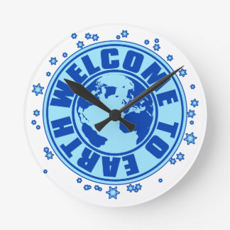WELCOME_TO_EARTH WALLCLOCKS
