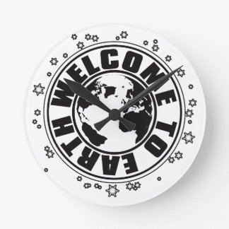 WELCOME_TO_EARTH WALLCLOCK