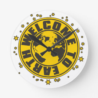 WELCOME_TO_EARTH WALL CLOCKS