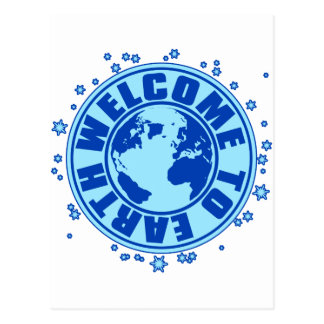 WELCOME_TO_EARTH POSTCARD
