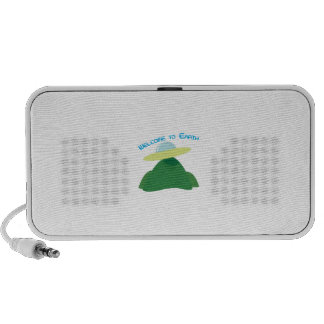 Welcome To Earth Travelling Speaker