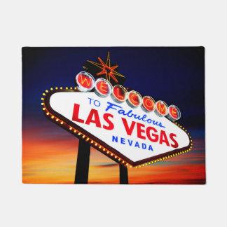 Welcome to Fabulous Las Vegas Beautiful Sunset Doormat