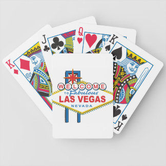 Welcome to Fabulous Las Vegas Bicycle Playing Cards