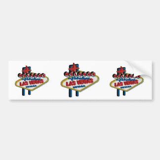 Welcome to Fabulous Las Vegas Car Bumper Sticker