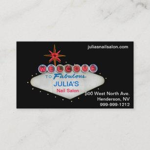 Las Vegas Business Cards Zazzle