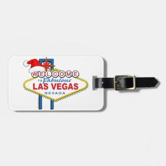 Welcome to Fabulous Las Vegas Christmas Bag Tag