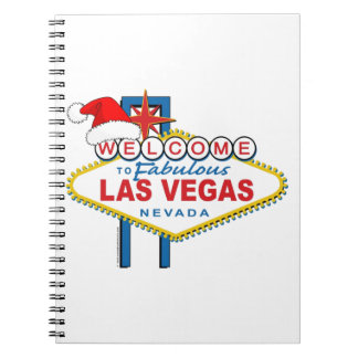 Welcome to Fabulous Las Vegas Christmas Spiral Note Book