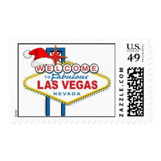 Welcome to Fabulous Las Vegas Christmas Postage