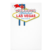 Welcome to Fabulous Las Vegas Christmas Stationery