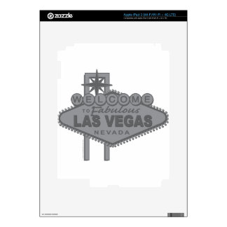 Welcome to Fabulous Las Vegas Decal For iPad 3
