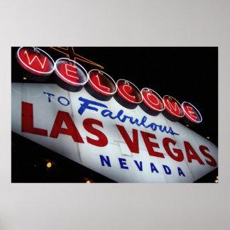 Welcome to Fabulous Las Vegas DSLR Poster