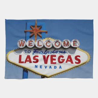 Welcome To Fabulous Las Vegas Historic Sign Towel