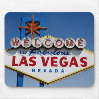 Welcome To Fabulous Las Vegas Historic Sign Mouse Pad