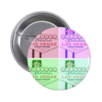 Welcome to Fabulous Las Vegas Honeymoon Button