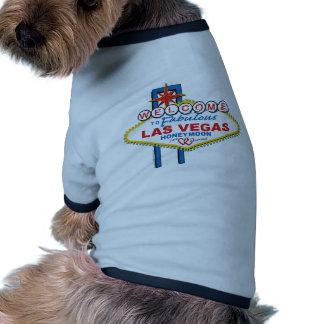Welcome to Fabulous Las Vegas Honeymoon Doggie Tshirt
