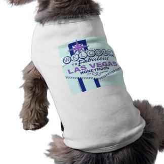 Welcome to Fabulous Las Vegas Honeymoon Dog Clothing