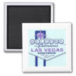 Welcome to Fabulous Las Vegas Honeymoon Magnet