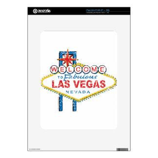 Welcome to Fabulous Las Vegas iPad Skin