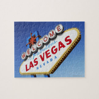 Welcome To Fabulous Las Vegas Jigsaw Puzzle