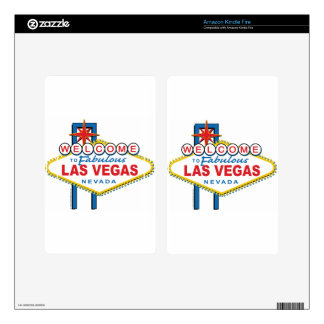 Welcome to Fabulous Las Vegas Kindle Fire Decal