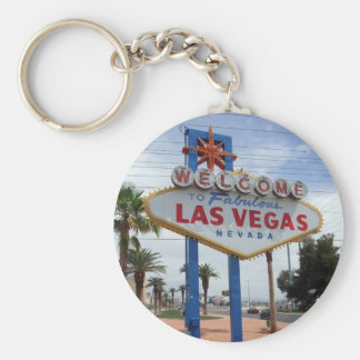Welcome to Fabulous Las Vegas Lucky Keychain