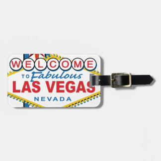 Welcome to Fabulous Las Vegas Luggage Tag