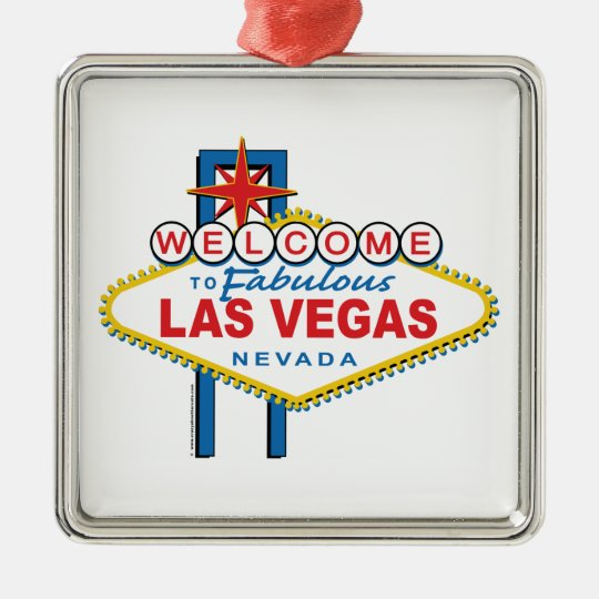 Welcome to Fabulous Las Vegas Metal Ornament