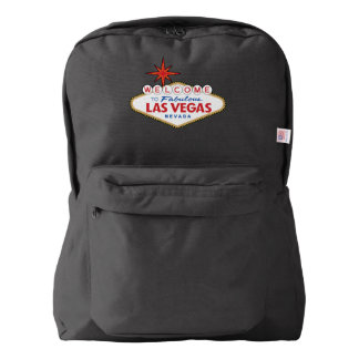 Welcome to Fabulous Las Vegas, Nevada American Apparel™ Backpack