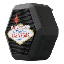 Welcome to Fabulous Las Vegas, Nevada Black Bluetooth Speaker