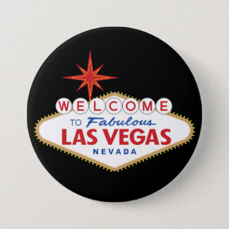 Welcome to Fabulous Las Vegas, Nevada Pinback Button