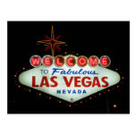 Welcome to Fabulous Las Vegas - Nevada Post Card